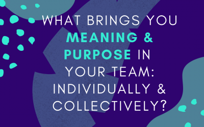 Three ways to bring meaning and purpose to your team culture in a crisis